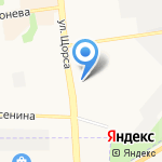 Папирус на карте Белгорода