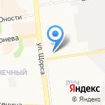Бабин на карте Белгорода