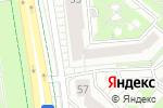 Схема проезда до компании Манхеттен в Белгороде