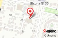 Схема проезда до компании Сталь фонд в Белгороде