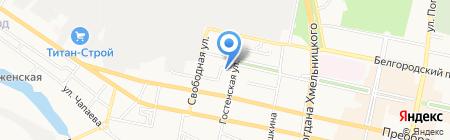 Аспект на карте Белгорода