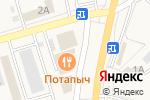 Схема проезда до компании ВТС 24 в Дубовом