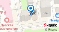 Компания БелЦветОк на карте