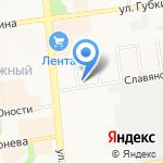 MASTER на карте Белгорода
