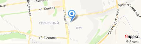 Соло на карте Белгорода