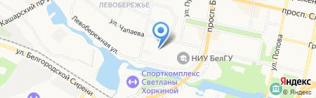 Маяк-Инвест на карте Белгорода