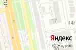 Схема проезда до компании Небо в Белгороде
