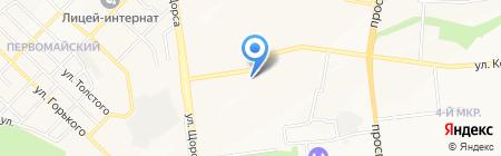 Окна ФОКС на карте Белгорода