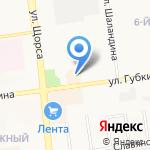 Belwest на карте Белгорода