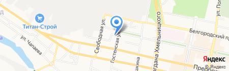 Мастерская красоты Натальи Муратовой на карте Белгорода