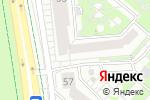 Схема проезда до компании Аква Беби в Белгороде