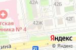 Схема проезда до компании БелЦветОк в Белгороде