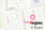 Схема проезда до компании Изюминка в Белгороде