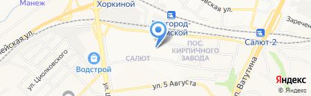Мари на карте Белгорода