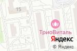 Схема проезда до компании Альтафарм плюс в Белгороде