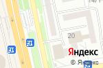 Схема проезда до компании Rootservice в Белгороде