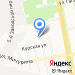 ЭЛТИ Страйк на карте Белгорода