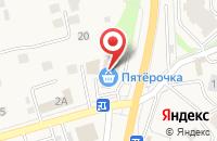 Схема проезда до компании Центр Кухни в Дубовом