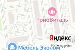 Схема проезда до компании Бурлеск в Белгороде