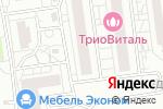 Схема проезда до компании Счастливый кроха в Белгороде