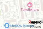 Схема проезда до компании Дент Идеал в Белгороде