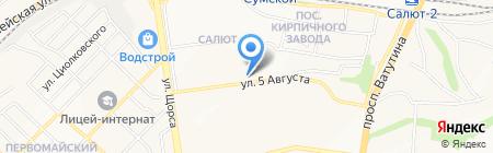 777+ на карте Белгорода