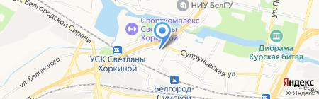 AutoSPA на карте Белгорода