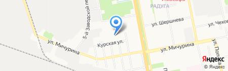 Белка на карте Белгорода