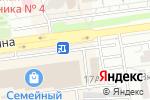 Схема проезда до компании Для душа и тела в Белгороде