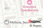 Схема проезда до компании Декор Мастер в Белгороде