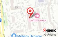 Схема проезда до компании Белаква в Белгороде