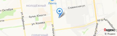 Сапоги-сандалики на карте Белгорода