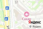 Схема проезда до компании Линия Сервиса в Белгороде