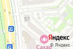 Схема проезда до компании Модная цирюльня в Белгороде