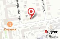 Схема проезда до компании СтройБаза на Славянской в Белгороде