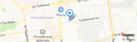 Декор-дизайн на карте Белгорода