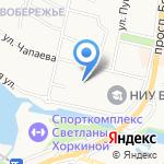 Меркурий-клуб на карте Белгорода
