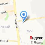 Шкода-Мода+ на карте Белгорода
