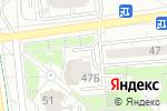 Схема проезда до компании Енисей в Белгороде