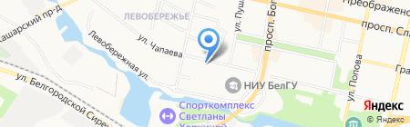 Ломбард на карте Белгорода