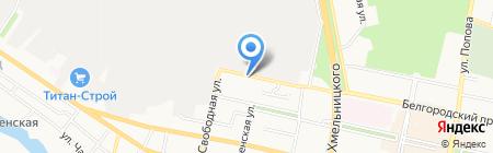 Мастерская по восстановлению алмазных коронок на карте Белгорода