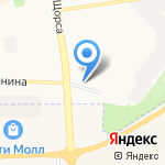 Гардиан на карте Белгорода