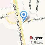 Лала на карте Белгорода