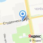 Ренессанс-водстрой на карте Белгорода