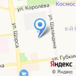 Термика на карте Белгорода