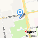 Чистый город на карте Белгорода