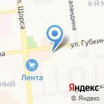 Перестройка на карте Белгорода