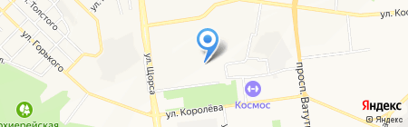 Детский сад №53 на карте Белгорода
