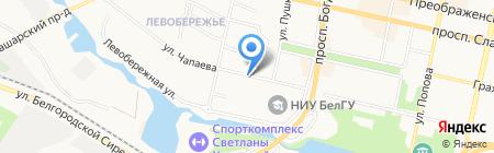 Магазин живой рыбы на карте Белгорода