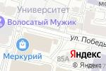 Схема проезда до компании Ключики, ЗАО в Белгороде